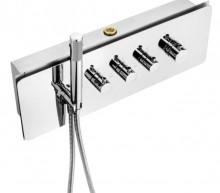 Multibox set de dus cascada slim - mixer termostatic