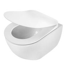 Peonia Zero Set 6 in 1 vas WC, capac, cadru, clapeta, sistem prindere si membrana acustica