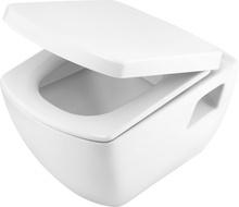 Anemon Set 6 in 1 vas WC, capac, cadru, clapeta, sistem prindere si membrana acustica