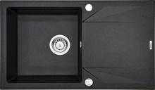 """EVORA Chiuveta GRANITE SINK GRAPHITE 780x440x180, 3,5"""""""