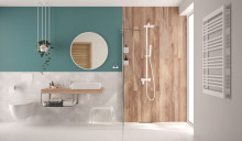 Peonia Zero Set 6 in 1 vas WC, capac, cadru, clapeta - finisaj alb, sistem prindere si membrana acustica