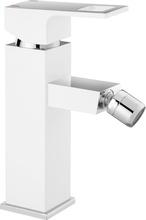 Anemon crom-alb Baterie de bideu cu sistem de dop automat