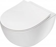 Peonia Vas WC suspendat, alb capac inclus CDE_6ZPW & CDE_6SOZ