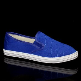 "Poze Espadrile ""MireaFashion"" Cod: 233A Royal"