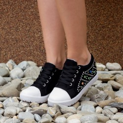 "Sneakers Dama ""MireaFashion"" Cod A911 Black (D01)"
