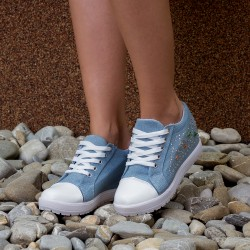"Sneakers Dama ""MireaFashion"" Cod: A911 Blue"