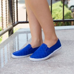 "Espadrile ""MireaFashion"" Cod: 233A Royal (DO)"