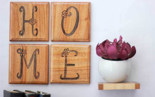 Decorarea cu stil casei - Cateva idei pentru decorarea casei folosind lemnul