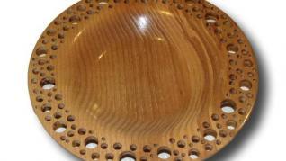 Cum facem o farfurie decorativa din lemn cu model dantelat