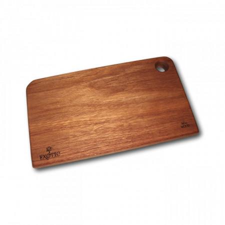 Tocator din lemn exotic Meranti - colectia Exotic