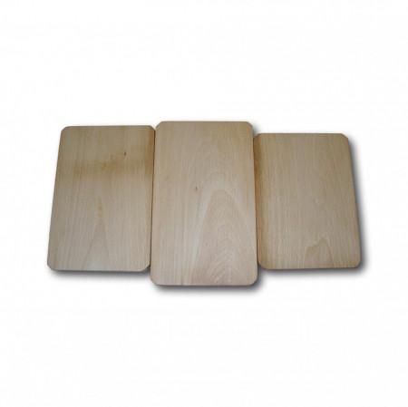set platou lemn