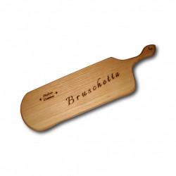 "Platou gravat din lemn de frasin ""Bruschetta"""