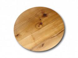 Tocator rotund din lemn