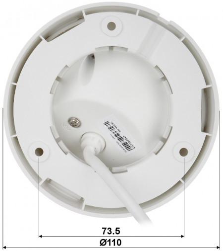 Camera HikVision IP 2MP cu microfon incorporat DS-2CD1323G0-IU