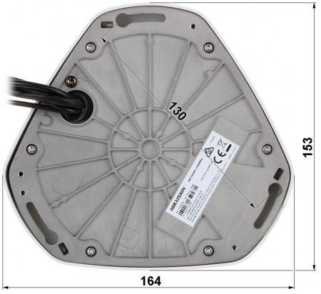 Camera Hikvision IP Fisheye 12MP DS-2CD63C5G0-IVS
