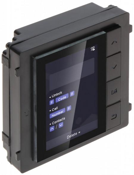 Post exterior HikVision 3 module ingropat DS-KD8003-IME1+DS-KD-DIS+DS-KD-KK+DS-KD-ACF3