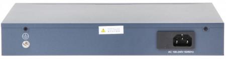 Switch 24 porturi PoE Hikvision carcasa din plastic DS-3E0326P-E