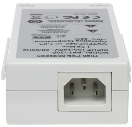 Injector Dahua High PoE DH-PFT1200