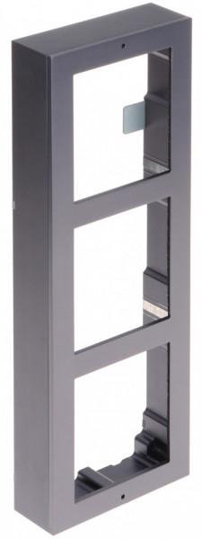 Post exterior HikVision 3 module aparent DS-KD8003-IME1/Surface+DS-KD-IN+DS-KD-KK+DS-KD-ACW3