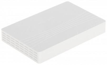 Switch 8 porturi Gigabit Hikvision carcasa din plastic DS-3E0508D-E
