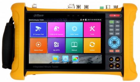 Tester Dahua pentru camere IP, Analogice, HDCVI DH-PFM907