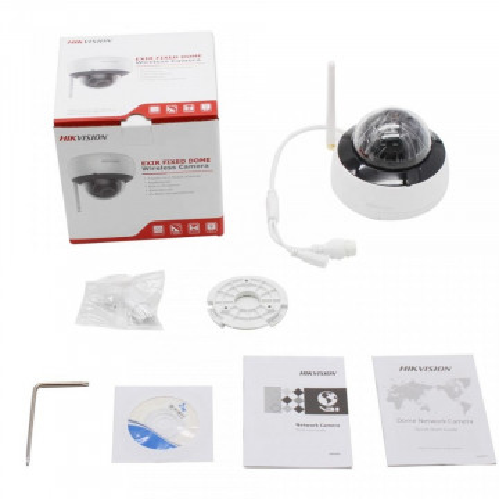 Camera Hikvision IP WiFi cu microfon 2MP DS-2CD2121G1-IDW1(D)