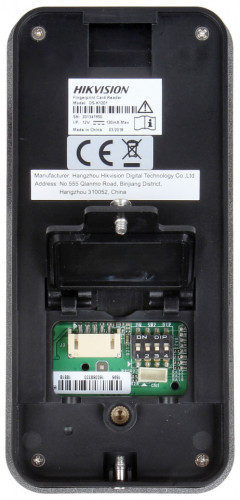 Cititor biometric HikVision si card mifare DS-K1201MF