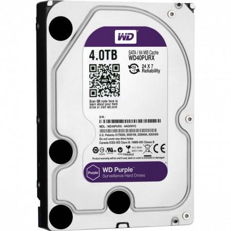 HDD WD Purple Surveillance 4TB WD40PURX