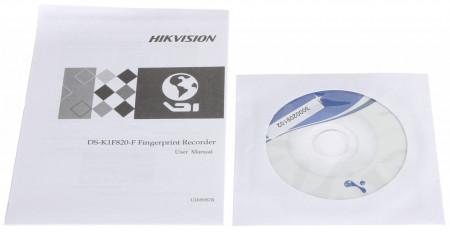 Scanner pentru amprente HikVision cu citire optica DS-K1F820-F