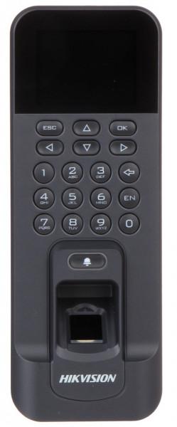Cititor biometric HikVision cu tastatura si card mifare DS-K1T804MF