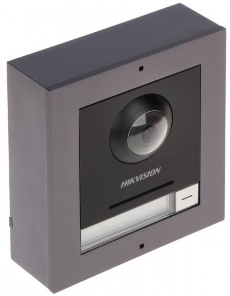 Post exterior HikVision 3 module aparent DS-KD8003-IME1/Surface+DS-KD-DIS+DS-KD-KP+DS-KD-ACW3