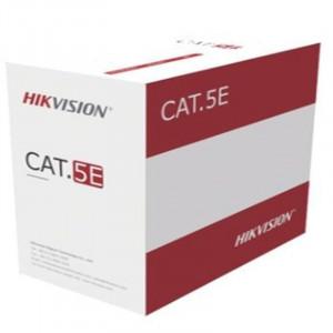 Cablu U/UTP Cat.5e, 4xAWG24, PVC, gri, cutie 305m,aluminiu cuprat DS-1LN5EU-G/CCA