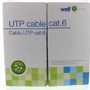 Cablu UTP cat. 6e WELL UTP6E-CU-305-WL