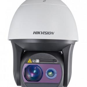 Camera Hikvision IP 2MP 50x cu iluminator laser 800m si stergator DS-2DF8250I8X-AELW