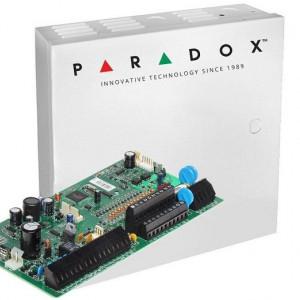 Centrala Paradox SPECTRA 16 intrari extensibila la 32 de zone plus cutie si traf SP7000(CT)