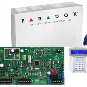 Kit Centrala Magellan Paradox cutie tastatura si telecomanda MG5000(CT)+K32LCD+REM1