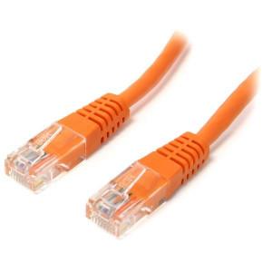 Patch Cord UTP Cat.5e-0.5M portocaliu