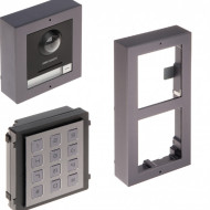 Post exterior HikVision 2 module aparent DS-KD8003-IME1/Surface+DS-KD-KP+DS-KD-ACW2