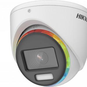 Camera Hikvision Turbo HD Color Vu 5.0 2MP turret cu microfon DS-2CE70DF8T-MFSLN