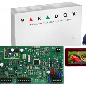 Kit Centrala Magellan Paradox cutie tastatura si telecomanda MG5000(CT)+TM50+REM1