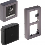 Post exterior HikVision 2 module aparent DS-KD8003-IME1/Surface+DS-KD-E+DS-KD-ACW2