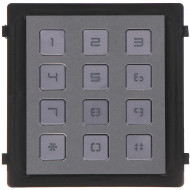 Post exterior HikVision 3 module aparent DS-KD8003-IME1/Surface+DS-KD-IN+DS-KD-KP+DS-KD-ACW3