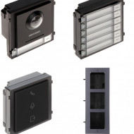 Post exterior HikVision 3 module ingropat DS-KD8003-IME1+DS-KD-IN+DS-KD-KK+DS-KD-ACF3