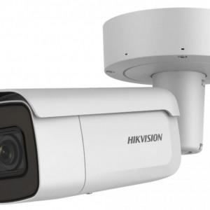 Camera Hikvision IP 8MP UltraHD AcuSense strobe light cu microfon incorporat DS-2CD2686G2-IZSU/SL