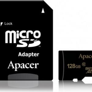 Card MicroSD APACER 128GB CARD-USDXC128GB/AD-C10-APCR