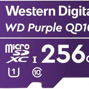 Card microSD Western Digital Purple 256GB WDD256G1P0C