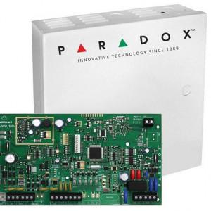 Centrala Paradox MAGELLAN 5 intrari cu emitator-receptor 32 de zone ( oricare poate fi radio ) plus cutie si traf MG5050(CT)