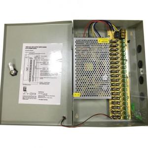 Sursa protejata cu sigurante 12V/20A SCM-240-12-18CH