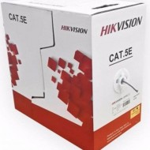 Cablu U/UTP Cat.5e, 4xAWG24, PVC, gri, cutie 305m, DS-1LN5-ES