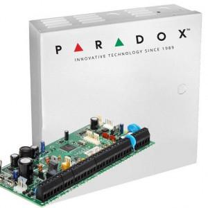 Centrala Paradox SPECTRA 8 intrari extensibila la 32 de zone plus cutie si traf SP6000(CT)